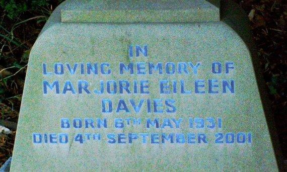 Waters Upton MIs - Davies, Marjorie Eileen