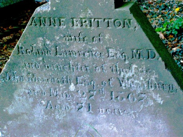 Waters Upton MIs - Lawrence, Anne Britton