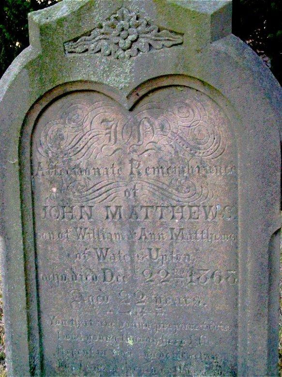 Waters Upton MIs - Matthews, John