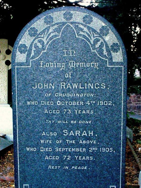 Waters Upton MIs - Rawlings, John and Sarah