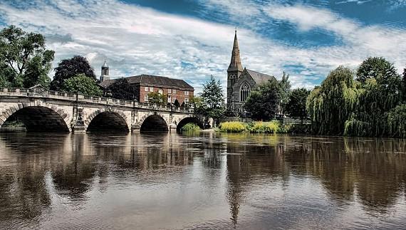 place - Shrewsbury, English Bridge